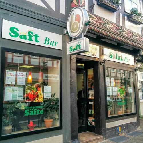 Saft- und Salatbar